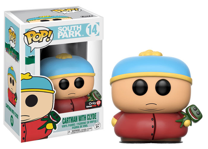 funko - pop - south park - goth cartman with clyde - gamestop - exclusive