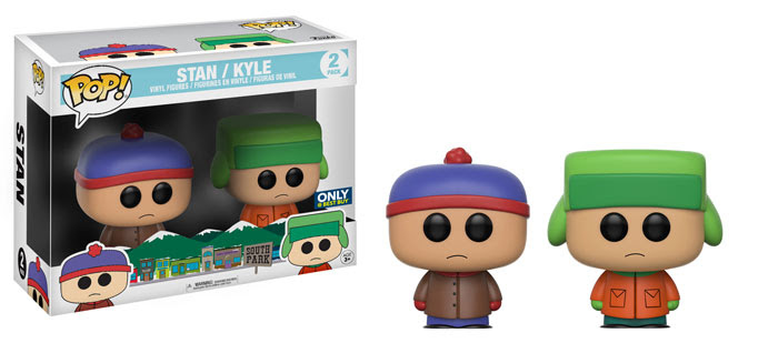 funko - pop - south park - stan and kyle - 2 pack - best buy - exclusive