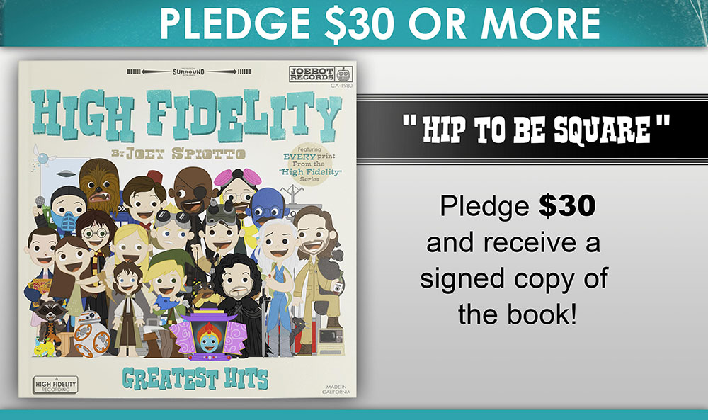 High Fidelity - Kickstarter - Hip To Be Square