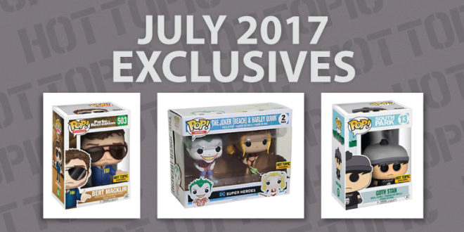 Hot Topic - Exclusive - Preview - Cover - July - 2017