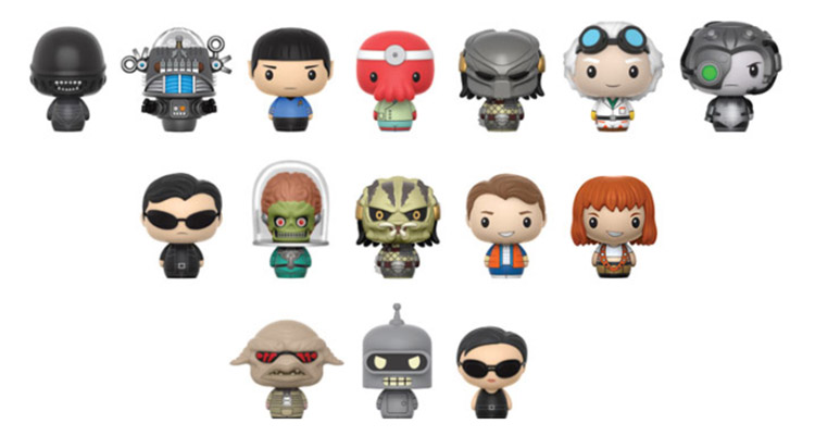 Pint Size Heroes - Sci Fi - Funko - Hot Topic - Exclusive