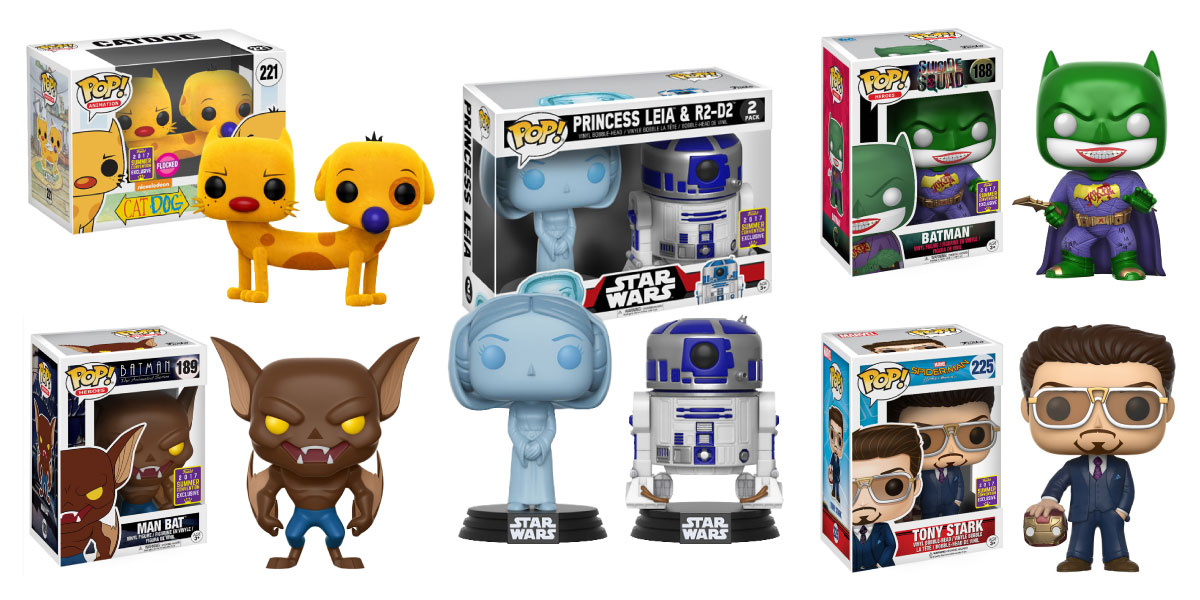 SDCC - Exclusives - Gamestop - Funko Pop! - 2017