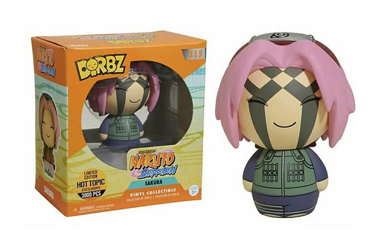 Sakura - Naruto Shippuden - Funko - Dorbz - Hot Topic - Exclusive