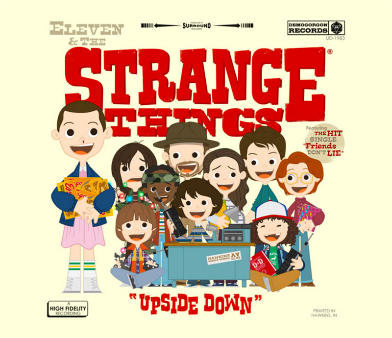Strange Things - Tee - Spiotto