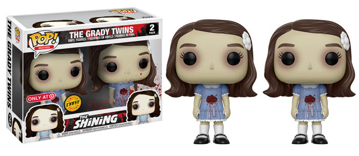 funko - pop - the shining - bloody grady twins - target - chase
