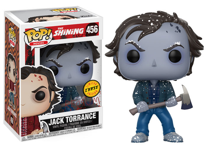 funko - pop - the shining - frozen jack torrance - chase