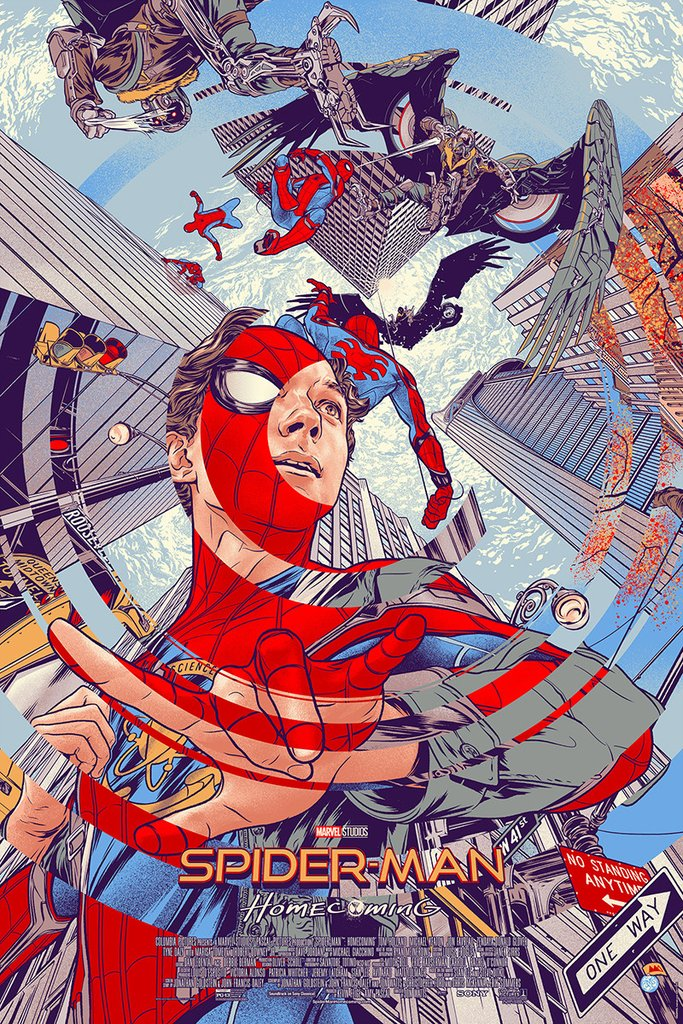 mondo - poster - spiderman - regular
