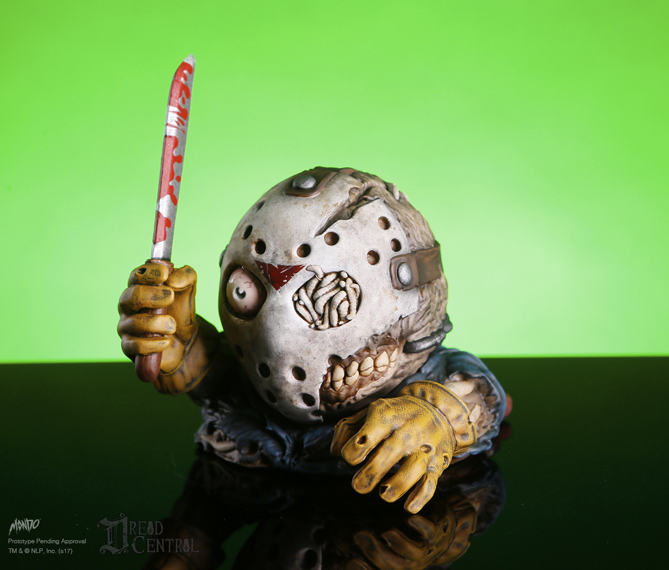 mondo - vinyl figure - mondoid - friday the 13th - jason voorhees