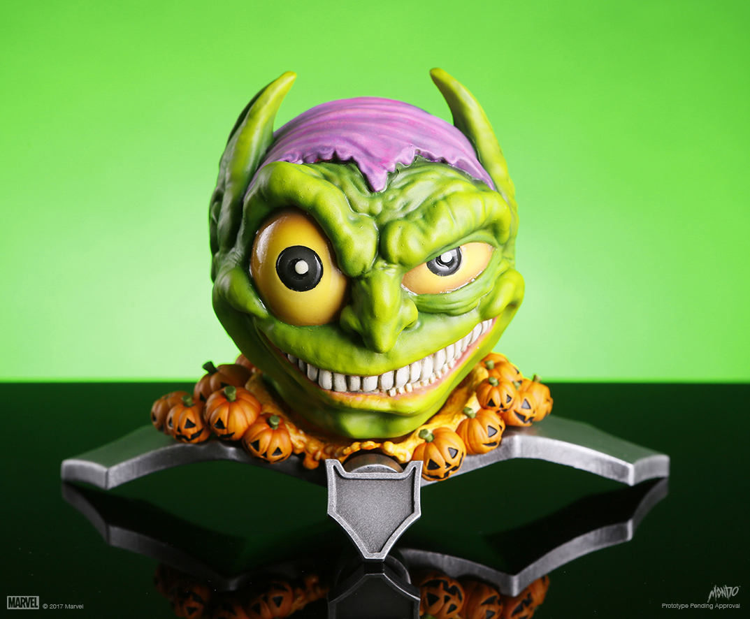 mondo - vinyl figure - mondoid - marvel - green goblin