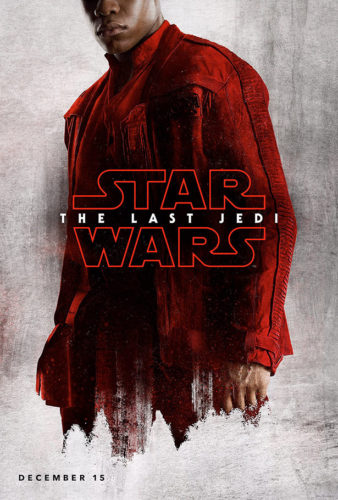 star wars - the last jedi - posters - finn