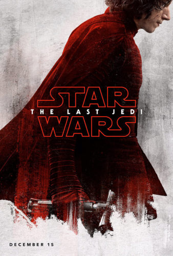 star wars - the last jedi - posters - kylo