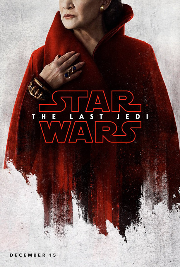 star wars - the last jedi - posters - leia