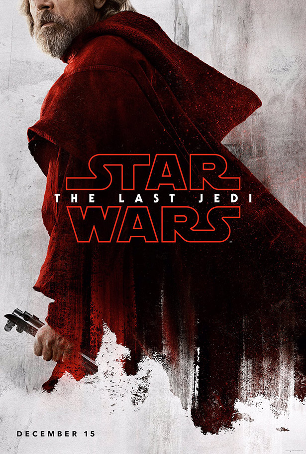 star wars - the last jedi - posters - luke
