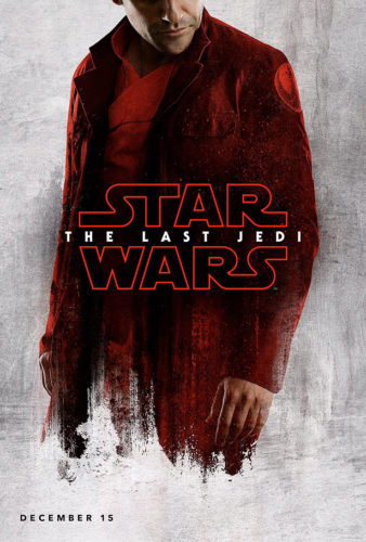 star wars - the last jedi - posters - poe