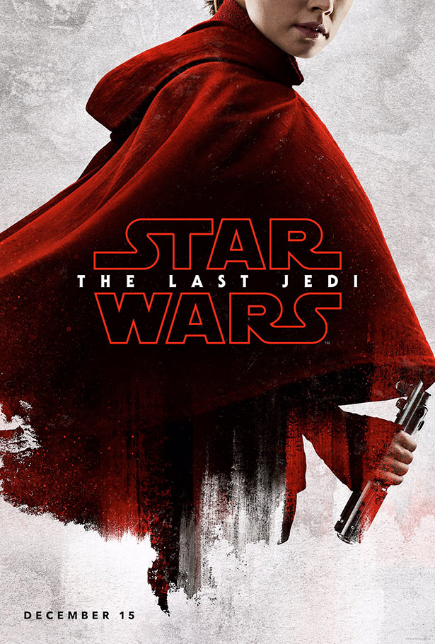 star wars - the last jedi - posters - rey