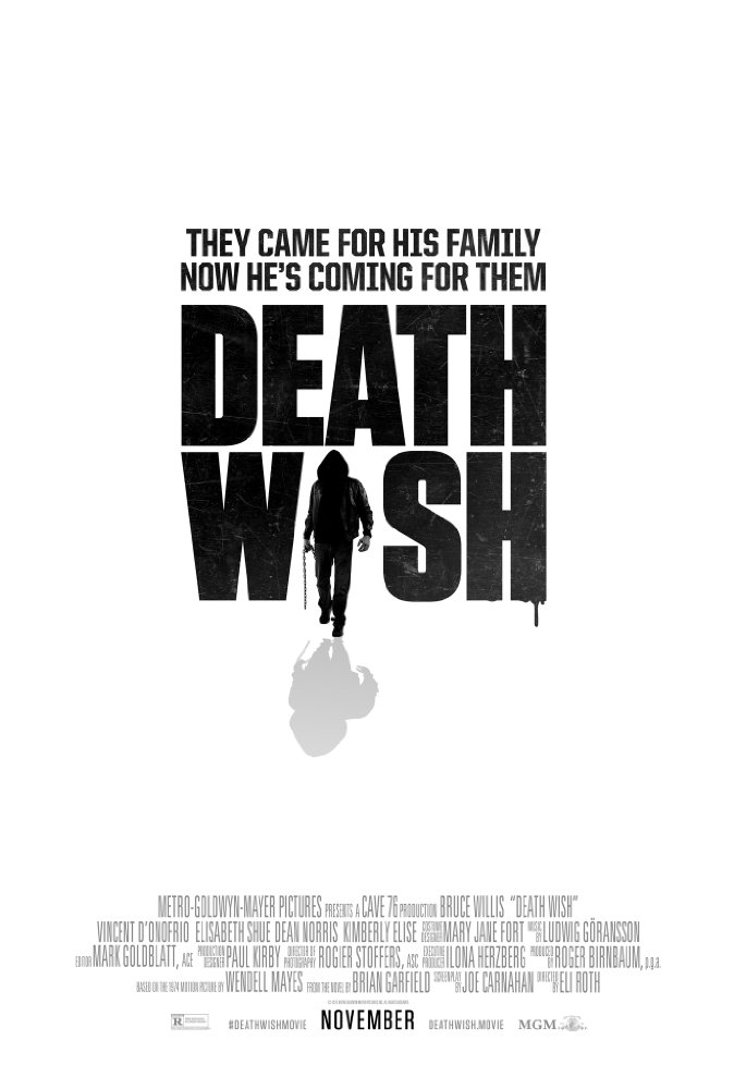 Death Wish - Official Poster