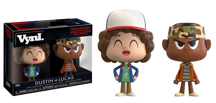Funko - Stranger Things - Vynl - Dustin and Lucas - 2 pack