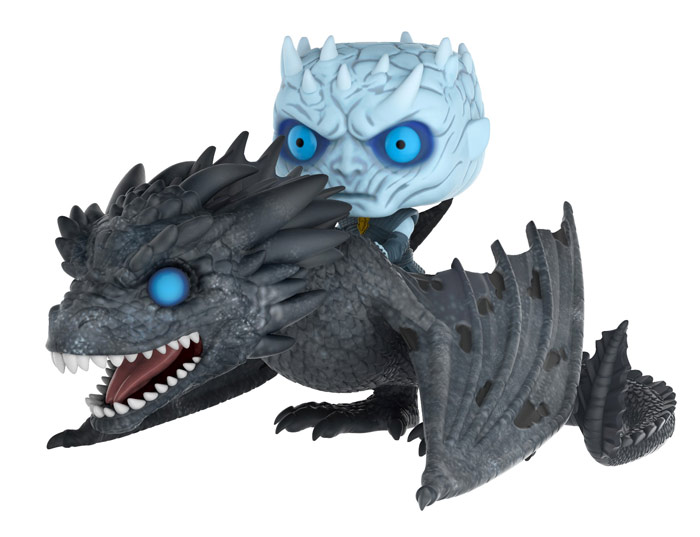 Game of Thrones - Night King - Dragon - Funko Pop! Ride