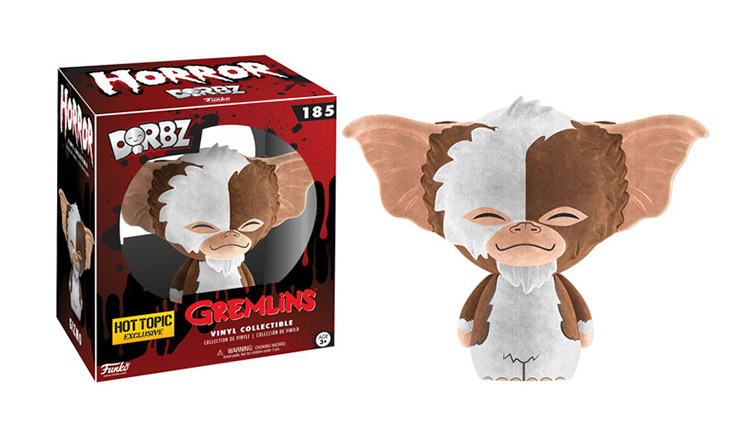 Gizmo - Flocked - Dorbz - Gremlins - Hot Topic Exclusive