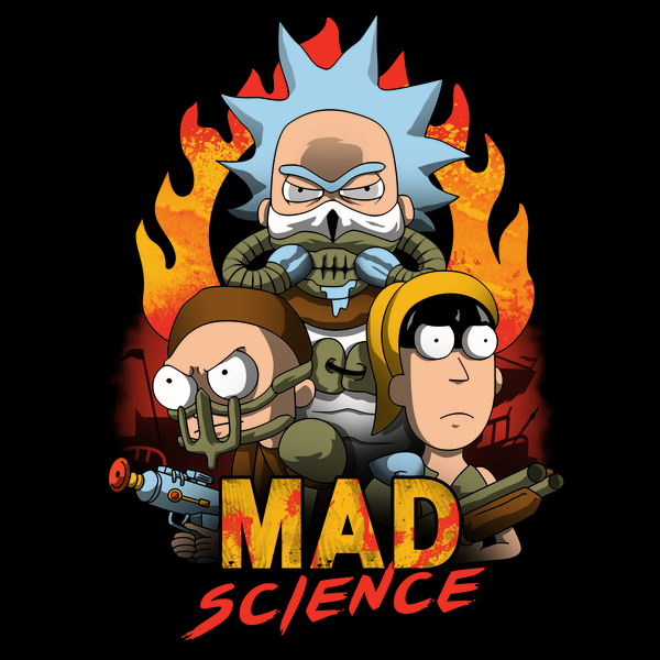 'Mad Science' T-Shirt by Vincent Trinidad