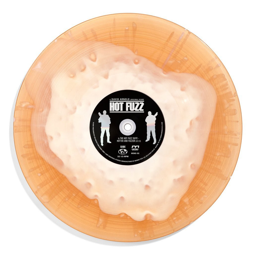 Mondo - Hot Fuzz - Jock - vinyl soundtrack - crown ale