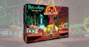 Rick and Morty - Anatomy Park - Cryptozoic - Cover