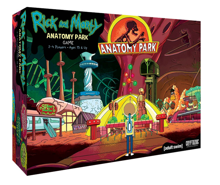 Rick and Morty - Anatomy Park - Cryptozoic - Game Box