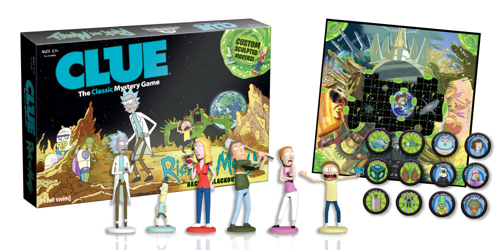 Rick and Morty - Clue - Horizontal