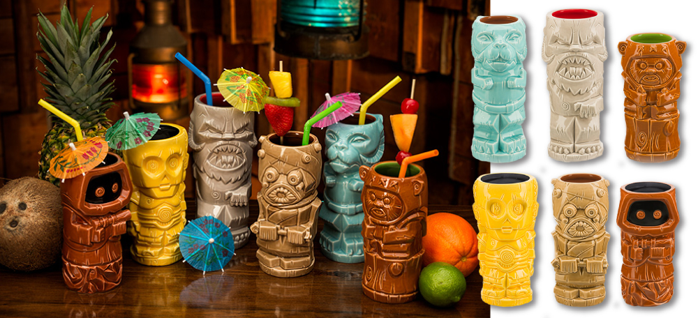Star Wars - Geeki Tikis - Series 2 from ThinkGeek