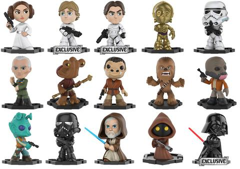 Star Wars - Mystery Minis - Game Stop - Exclusives
