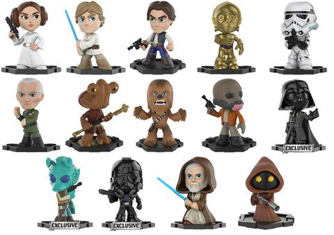 Star Wars - Mystery Minis - Hot Topic - Exclusives - figures