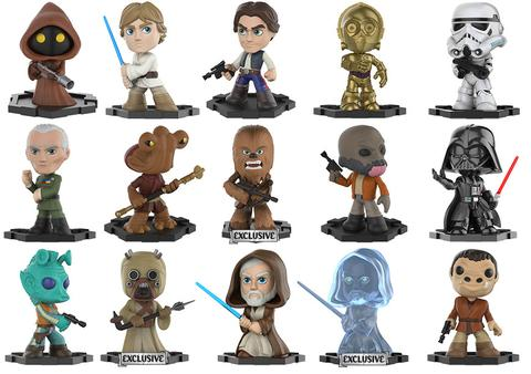 Star Wars - Mystery Minis - WalMart - Exclusives