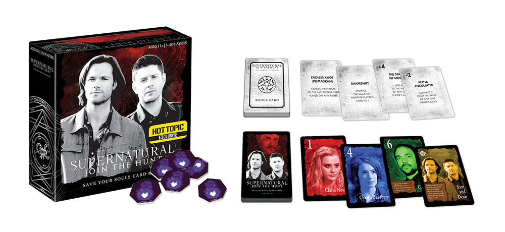 Supernatural - Save Your Souls - Card Game - Hot Topic