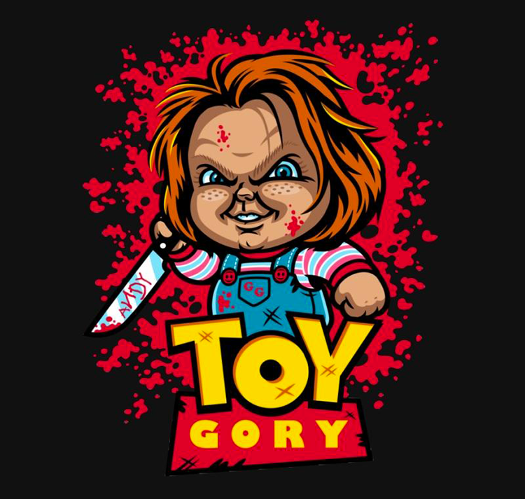 Toy Gory - T-Shirt - Harebrained - web