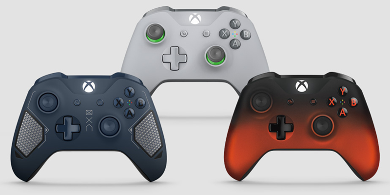 Xbox---Wireless-Controllers---New-Designs---Video-Games