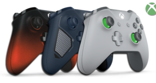 New Designs and Colors for Wireless Xbox Controllers