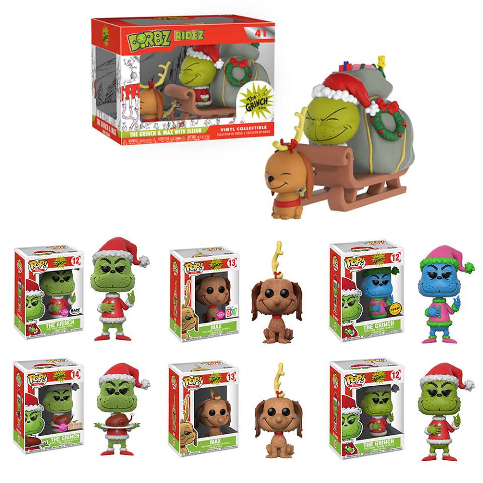 Dr Seuss - How The Grinch Stole Christmas - Funko
