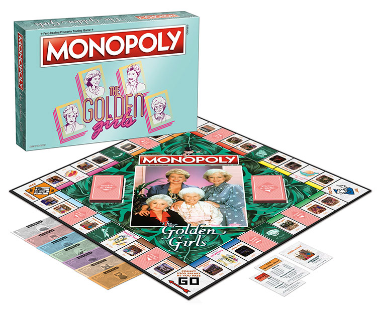 Golden Girls - Monopoly - Board and Box