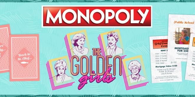 Golden Girls - Monopoly - Cover