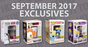 Hot Topic Exclusives Preview – September 2017
