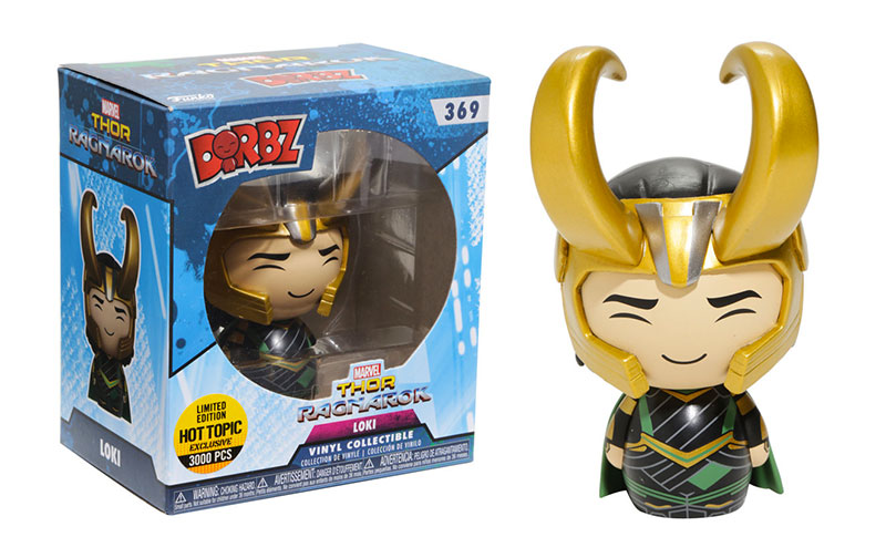 Loki - Thor Ragnarok - Dorbz - Hot Topic - Exclusive