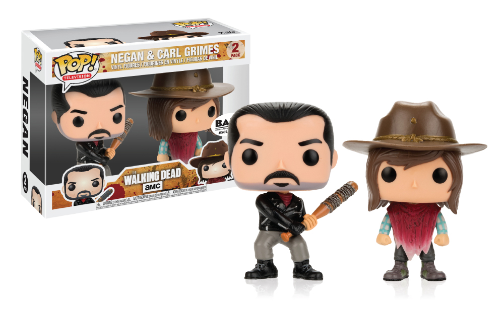 TWD - Funko Pop! - 2Pack - Negan and Carl