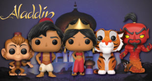 Aladdin Funko Pop!s Coming Soon
