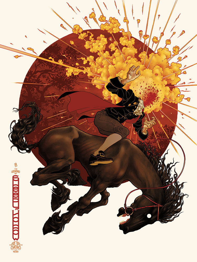 Mondo - poster - The Legend of Sleepy Hollow - US Variant