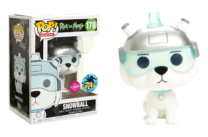 L.A. Comic Con Exclusive Snowball Funko Pop!