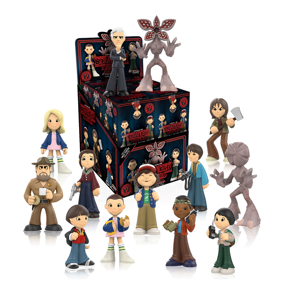 Stranger Things - Mystery Minis - Hot Topic - Exclusive