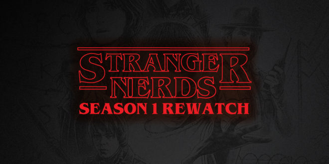 Stranger Things - Season 1 Rewatch - Cover