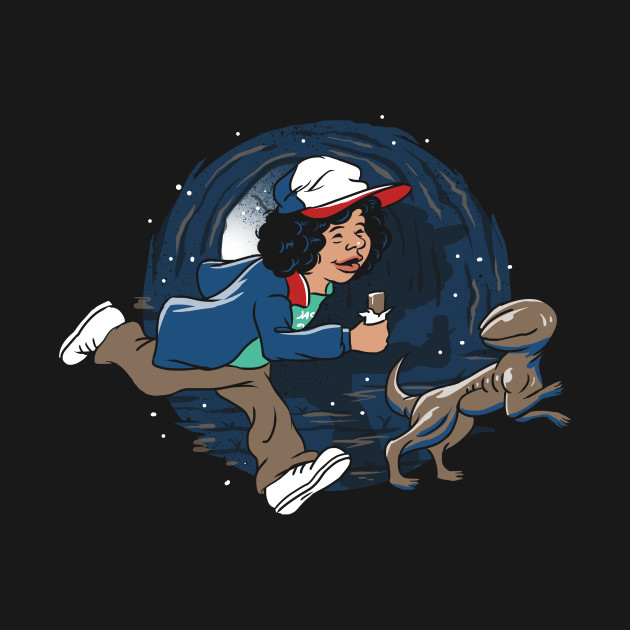 Adventures of Dustin and Dart T-Shirt by artist Vincent021