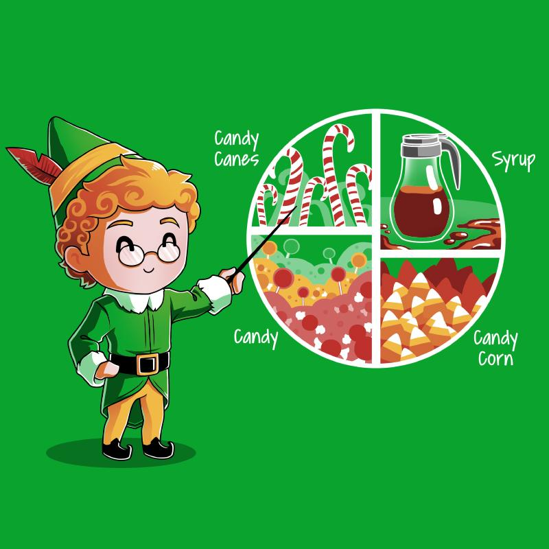 Elf - Four Main Food Groups - Shirt