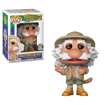 Funko - Pop - Fraggle Rock - Uncle Traveling Matt - specialty series